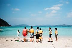 Summer vacation (我的小風景) Tags: leica film kodak okinawa m3 渡嘉敷 hd200 小旅行