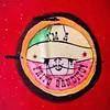 Frito Bandito (Mega Rutabaga) Tags: frito hippie sombrero bandito fritobandito blacklightart summerof1969 hippieart iphoneography