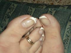 DSCF2368 (sandalman444) Tags: male feet fetish toes long sandals painted mens pedicure toenails toerrings