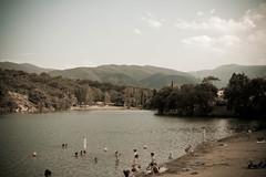 A Vinça (akynou) Tags: lac plage akynou barrage pyrénéesorientales 2013 vinça