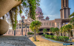 Putrajaya Landscapes (van_ambruce) Tags: putrajayamosque klabit vanligutomphotography