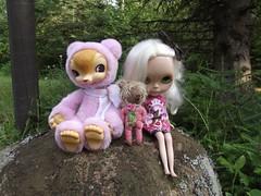 Tansy and Selene at Sullivan Lake