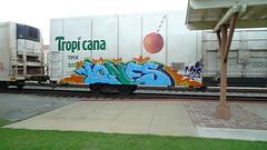 LONE  MIB (galaxy defenders) Tags: graffiti lone tropicana