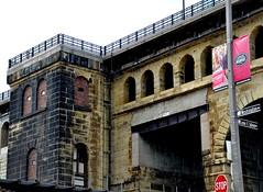 Eads Bridge (Adventurer Dustin Holmes) Tags: bridge river stlouis bridges missouri rivers mississippiriver eadsbridge stlouismissouri stlouismo 2013 rivertraffic ingrambargeco ingrambargecompany