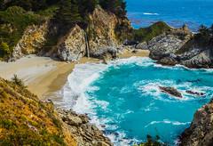 McWay Falls (jrodmanjr) Tags: ocean california ca waterfall monterey pacific bigsur pch pacificcoast hwy1 pacificcoasthighway mcwayfalls juliapfeifferburns canonef24105mmf4lisusm