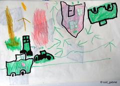 Busy traffic (cod_gabriel) Tags: drawing son dessin konst dibujo fiu desenho disegno zeichnung tekening 素描 teckning rajz رسم рисунок desen menggambar ნახატი 소묘 रेखाचित्र