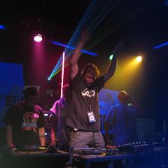 IMG_1278 (Dan Correia) Tags: drumnbass lights lasers blacklight dj mixer turntables redshift clinto josiahscribes topv111 topv333 topv555 topv777 addme500