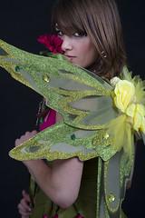 Mattie (austinspace) Tags: portrait woman studio washington spokane fairy faerie alienbees