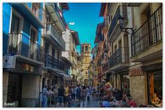 Getaria (.Robert. Photography) Tags: robert calle vasco euskadi carrer guipzcoa pas getaria