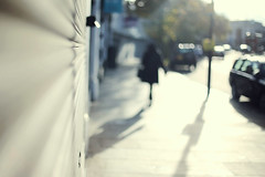 . (LauraKiora) Tags: street winter sun lady walking shadows hernehill vision:outdoor=0602