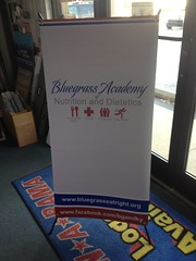 Banner Stand | Signarama Lexington, KY | Bluegrass Academy Nutrition