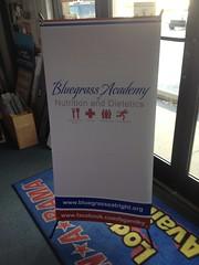 Banner Stand | Signarama Lexington, KY | Bluegrass Academy Nutrition