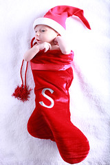 Stocking Stuffer (smwsmiles) Tags: christmas baby infant newborn stocking