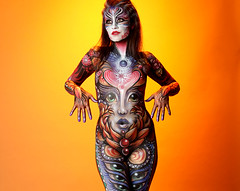 CC (LivingBrush) Tags: art naked nude bodypaint bodypainting cuerpospintados nudity bodyart livingbrush scottfray madelyngreco
