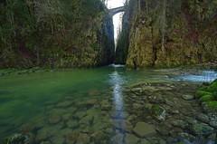 Au dbouch des gorges de la Langouette, vers Les Planches en Montagne (Guy Decreuse 25) Tags: jura gorge cascade saine langouette lesplanchesenmontagne montliboz