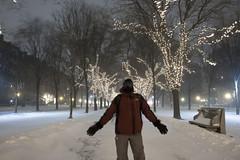 Blizzard_20140102_025 (falconn67) Tags: longexposure winter selfportrait snow storm cold boston night canon mall lights blizzard noreaster commonwealthave commave selfie 2014 1dsmarkii 24105l