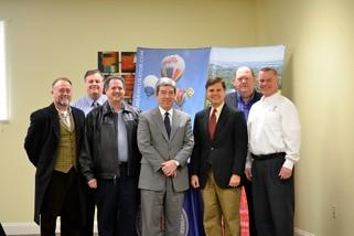 Decatur Morgan Entrepreneurial Center- Senator Orr & Larry Waye