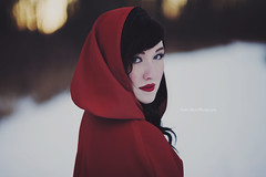 Sarah's Red Riding Hood Session