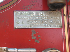 Champion Fire Engine (ilgunmkr - Thanks for 3,500,000+ Views) Tags: 1930s firetruck dodge fireengine carshow dodgetruck 2013 amboyillinois wsdarleyco westbrooklynillinois championfireengine