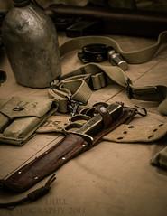 US Army knuckle fighting knife (chrishullphotography) Tags: history nc war military wwii knife northcarolina worldwarii brassknuckles usarmy huntersville