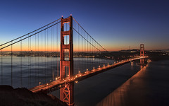 Golden Gate Bridge (Sarmu) Tags: sf sanfrancisco california ca city bridge light wallpaper urban usa mountain building skyline architecture night america skyscraper sunrise dawn lights bay us twilight highresolution downtown cityscape view skyscrapers nightshot unitedstates widescreen landmark icon 1600 goldengatebridge goldengate highdefinition resolution northamerica 1200 cbd hd bluehour wallpapers sausalito iconic batteryspencer 1920 goldenhour vantage vantagepoint ws 1080 1050 720p 1080p urbanity 1680 720 digitalblending 2560 2013 sarmu