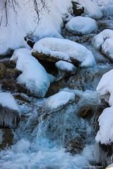 Winter Stream [French Alps] (AstroGuiGeek) Tags: snow france alps ice water alpes eau freeze neige savoie glace bonneval frozenfalls eos600d canoneos600d