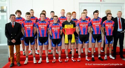 Ploegvoorstelling Davo Cycling Team (2)