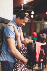 Father & Daughter (Andrew Azis) Tags: canon indonesia 50mm f14 father daughter malang