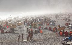 Misty Ipanema, Rio de Janeiro (maxunterwegs) Tags: brazil praia beach brasil riodejaneiro strand brasilien ipanema brsil
