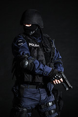 SWAT officer (zabielin) Tags: black soldier fight team gun force mask action background military helmet police security assault special equipment colorized armor weapon terrorism law enforcement vest squad toned anti protection tactics officer lawenforcement swat weapons forces firearms armed specialforces swatteam filtered warfare tactical antiterrorism antiterror counterterrorist counterterrorism
