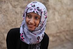 Maha in Sana'a, Yemen.