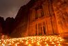 Petra by night (jordan) (renan4) Tags: trip travel monument night lights nikon view desert tomb petra middleeast arabic jordan monastery nikkor renan candel d800 gicquel tresory renan4