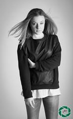 Hiryana (Christie_Road_Photos) Tags: portrait girl fashion canon studio eos book model flash bn blonde tamron bianco ritratto nero ragazza bionda modella 550d 1750mm