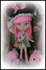 Pink - Minnie CupCake and Spring Birdy