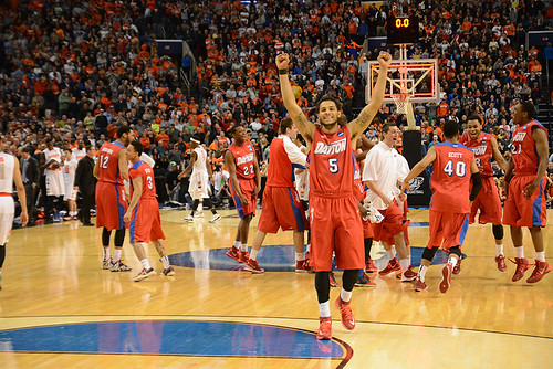 Dayton savored wins over in-state foe Ohio State and powerful Syracuse to reach the Sweet 16.
