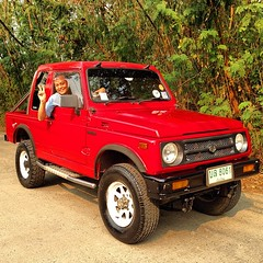 #suzuki #caribian #4x4 #red #car #ซูซุกิ #คาริเบียน #พริกหวาน