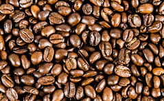 Coffee Beans WallPaper (King Grecko) Tags: morning food brown white black hot cup closeup breakfast dark cafe energy break flavor drink background beverage seed bean fresh gourmet delicious crop mug espresso taste caffeine cappuccino aromatic vector isolated roasted aroma