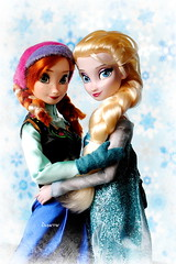 Disney Frozen Anna & Elsa (daniela.markovna) Tags: anna frozen doll disney elsa