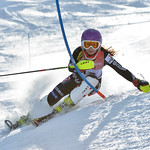 Pia VRDOLJAK of Croatia takes 5th Place in the U16 Girls Slalom Race held on Whistler Mountain on April 6th, 2014. Photo by Scott Brammer - coastphoto.com - coastphoto.com