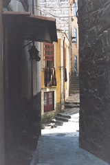 #38 Hidden by time I (Lus M. Ferreira) Tags: old city urban color colour history film portugal by canon buildings lens dead photography is backalley flat image time exploring grain tourist historic hidden part porto canonet 45mm lots oporto ribeira hotspot alleys ql19