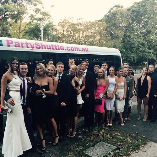 Party Shuttle on to your #SchoolFormal