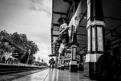 The Jump at Hua Hin Railway Station | Bangkok 2016