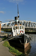 100 years young (midcheshireman) Tags: river boat cheshire tugboat tug weaver kerne