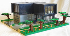 Mr. Johnson's house (N-11 Ordo) Tags: new house black architecture modern living mr johnsons ordo n11 legography