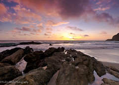 Point Mugu Sunset (Robin Black Photography) Tags: california sunset sea seascape color beach clouds landscape coast rocks ngc shoreline pacificocean socal southerncalifornia naturesbest nationalgeographic pointmugu outdoorphotographer canon5dmarkii robinblackphotography
