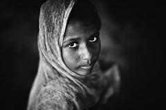 The soulful entity (Kazi Sudipto) Tags: portrait girl face lady eyes expression feel deep soul soulful bangladesh entity coxsbazar