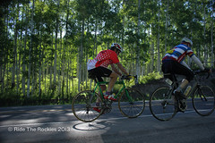 Riding through Aspens en route to Lizard Head Pass. (RideTheRockies) Tags: day1 telluride cortex featured rtr2013