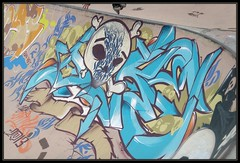 Joke (Gramgroum) Tags: street art marseille joke bowl skate bol probowlcontest undartground