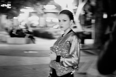 _MG_9530A (She Run Away) Tags: street portrait blackandwhite bw woman white motion black girl fashion night canon dark photography 50mm blackwhite necklace movement model women bokeh grain earring canon50mmf18 50 photograpy vouge shiran canon50mm canonphotography womanportrait 550d womenportrait sherunaway canonphotograpy canon550d canont2i canonrebelt2i poisoninmyveinsclambertomyfeetandintothenightagain