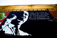Martin Luther King (Thomas Hawk) Tags: usa graffiti unitedstates unitedstatesofamerica idaho boise mlk martinlutherking freakalley